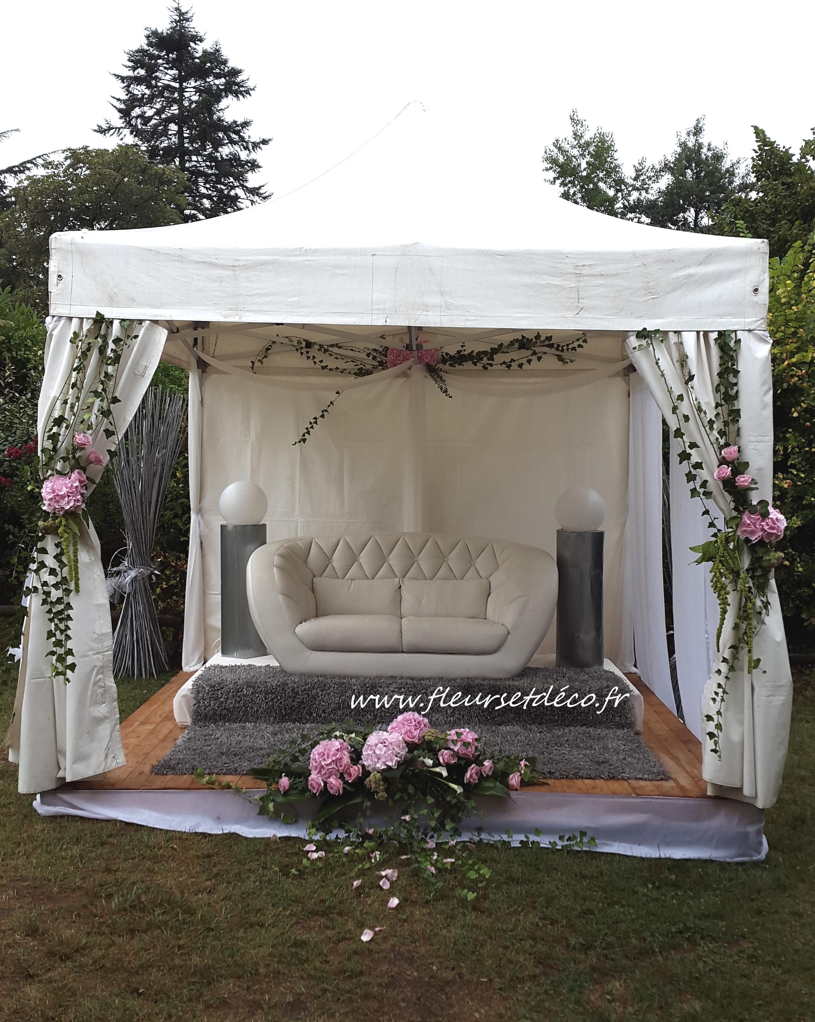 C r monie laique fleurs et d co for Decoration ceremonie