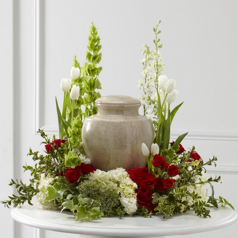 D coration d 39 urne fleurs et d co for Decoration urne