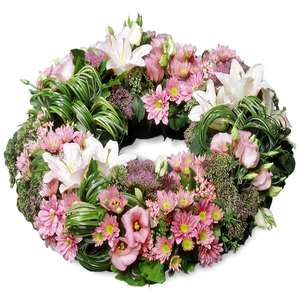Couronne fleurs et d co - Fleuriste couronne de fleurs ...