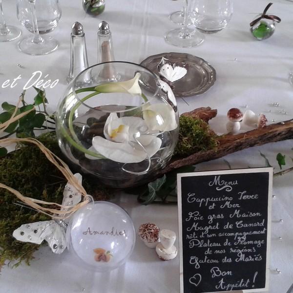 Centre de table orchidée