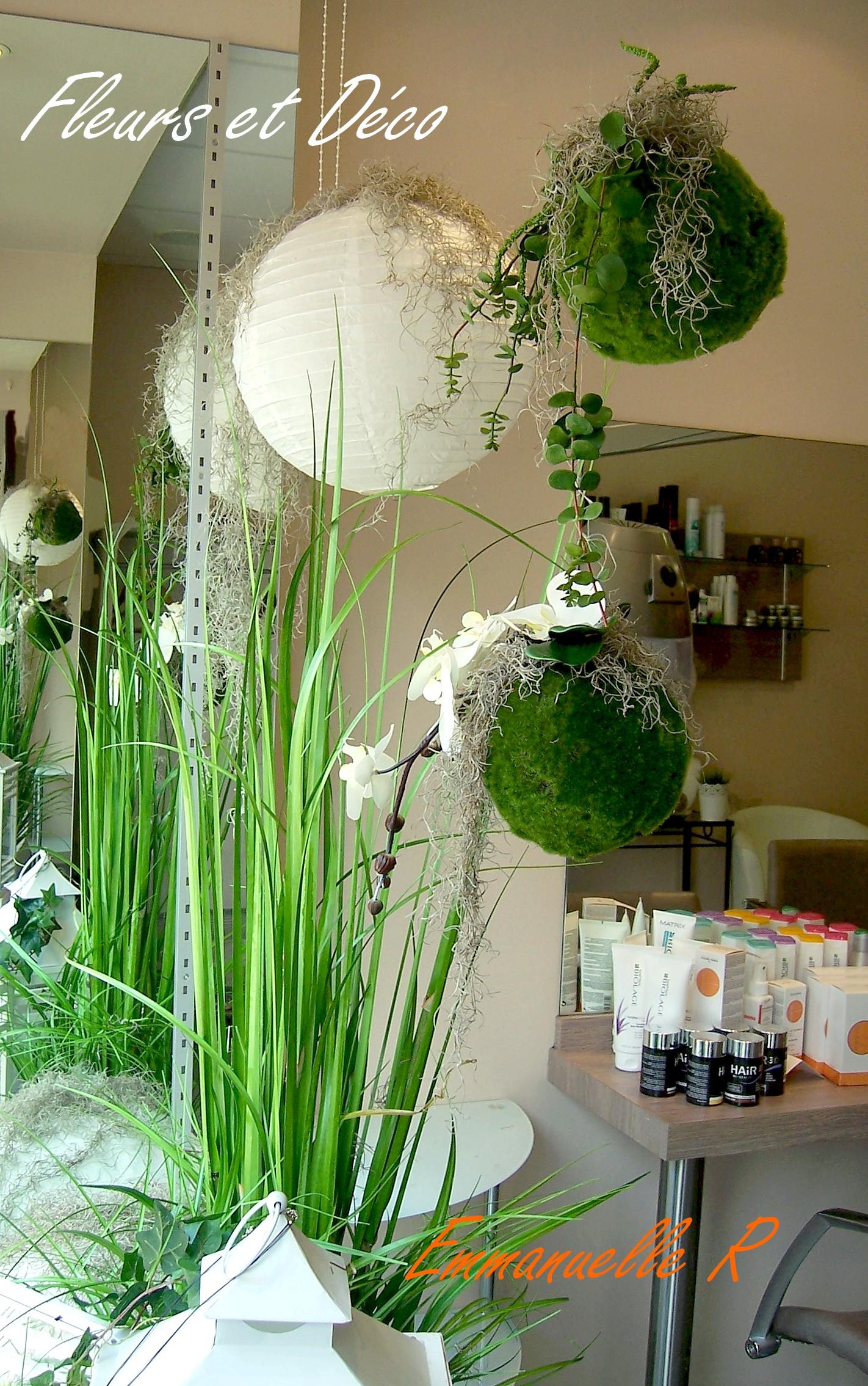 Ambiance zen en blanc vert fleurs et d co for Ambiance et decoration