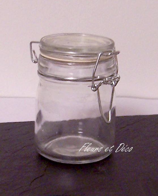 Bocal transparent mg fleurs et d co - Bocal en verre 10 litres ...