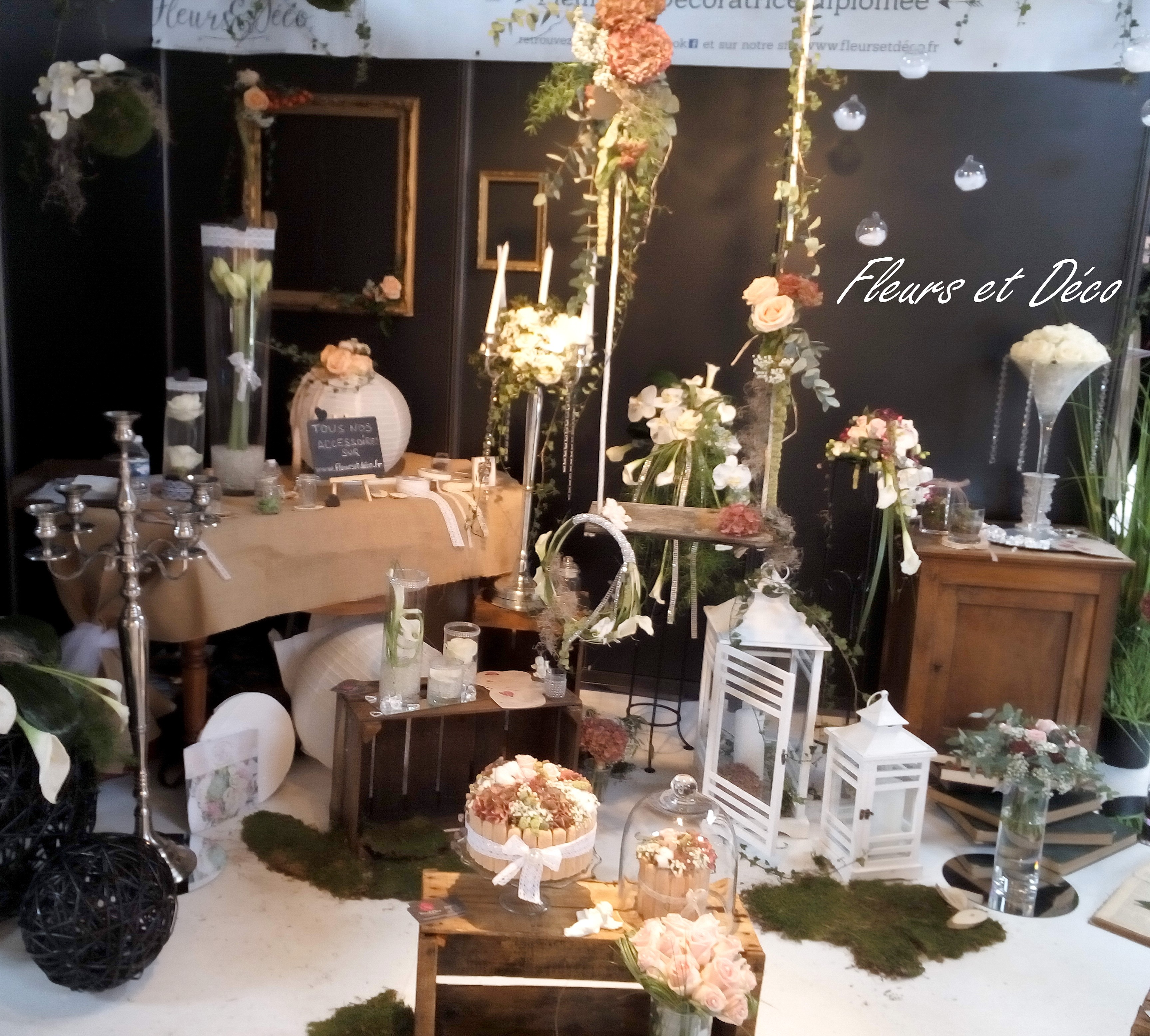 Salon du mariage valence fleurs et d co for Les stands brignais