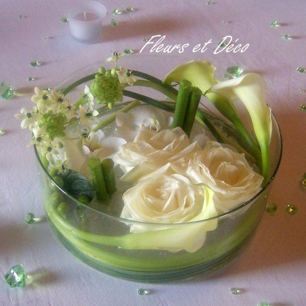 Vase rond/plat en location