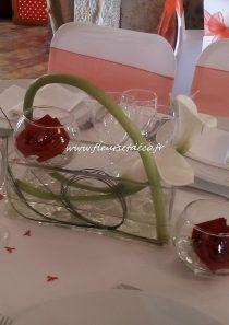Vase rectangle en location