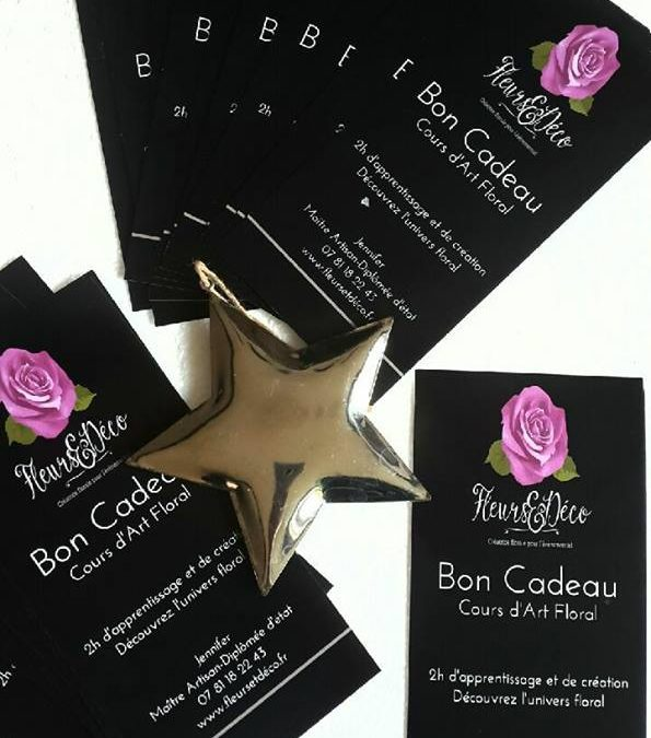 Carte cadeau «Cours d'Art Floral»