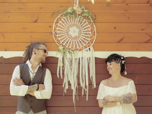 Shooting inspiration mariage « Gypsy »