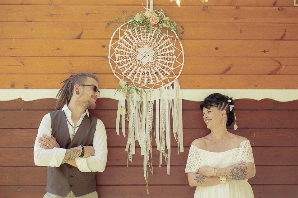 Shooting inspiration mariage «Gypsy»