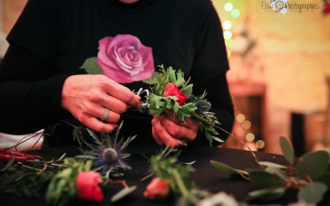 Atelier/cours d'art floral