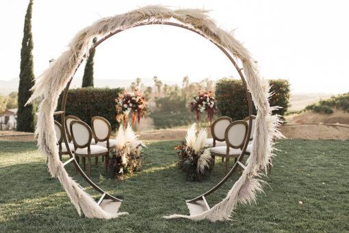 Arche ronde mariage