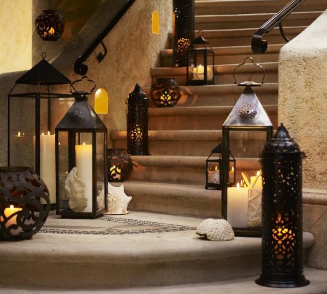 deco-escalier-lanterne-bougie