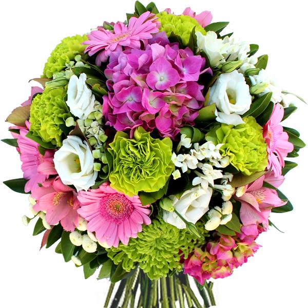 Bouquet rond acidul fleurs et d co for Bouquet de fleurs 94