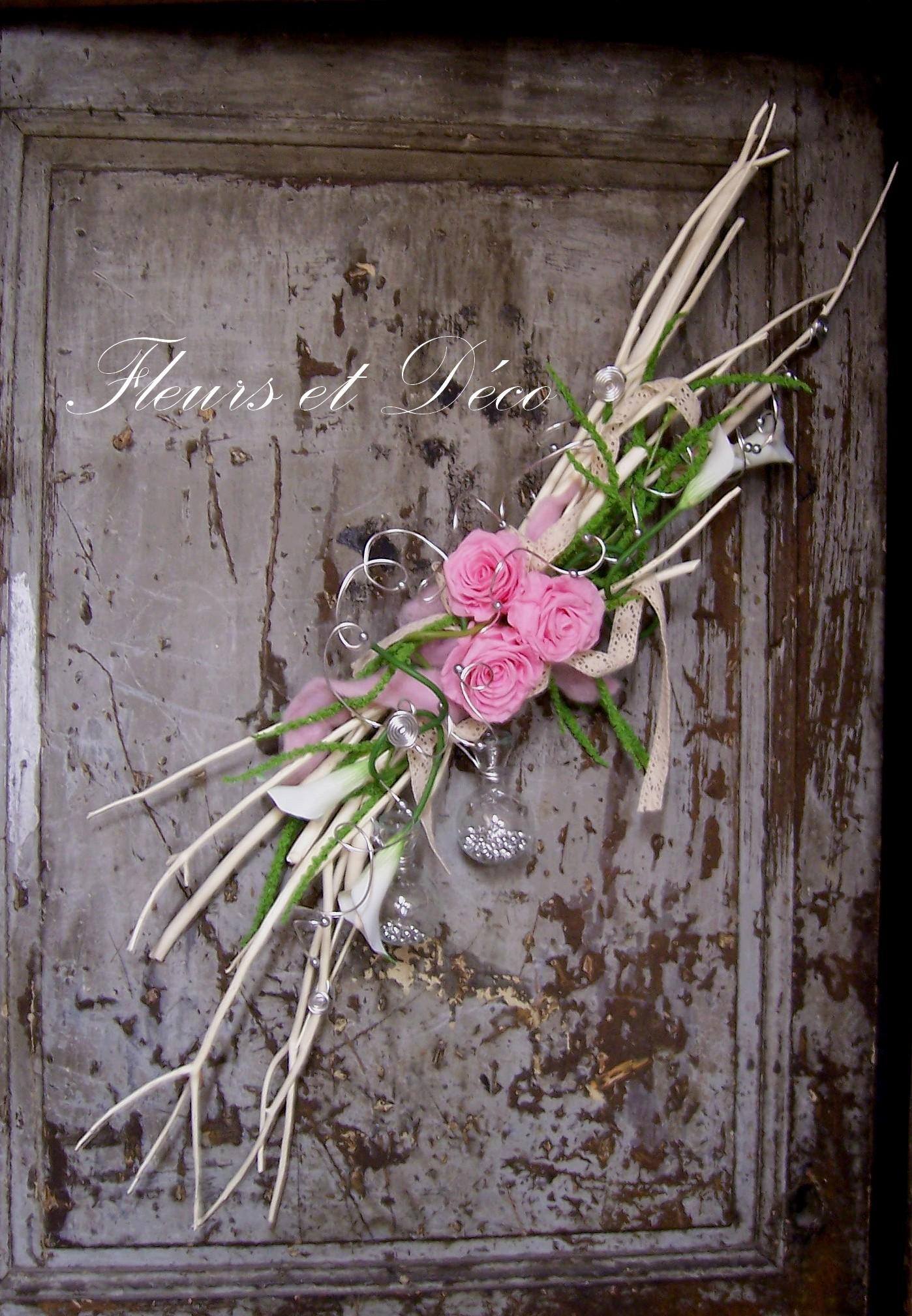 Rose éternelle : décoration vintage