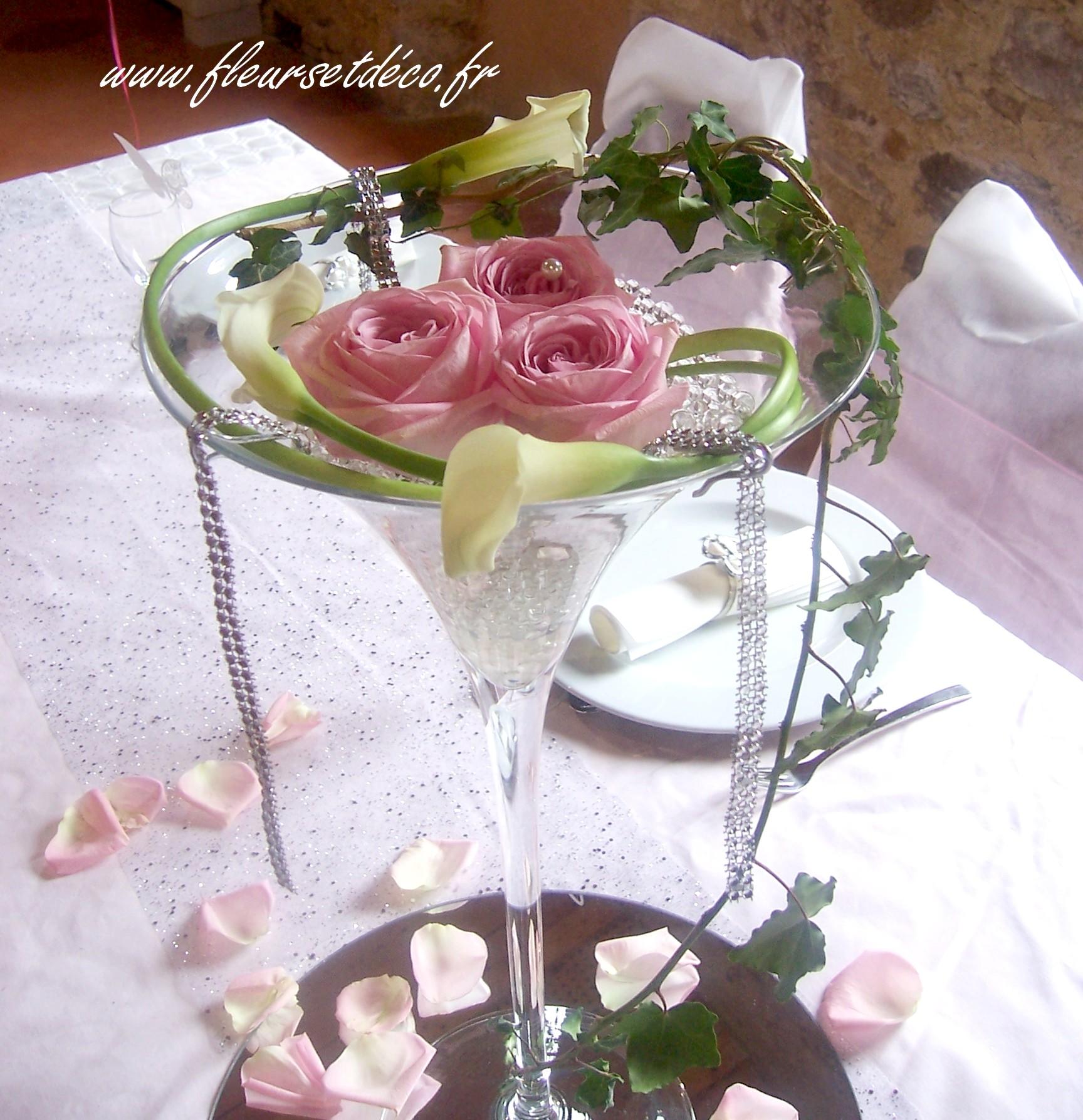 Vase cocktail en location Ardèche