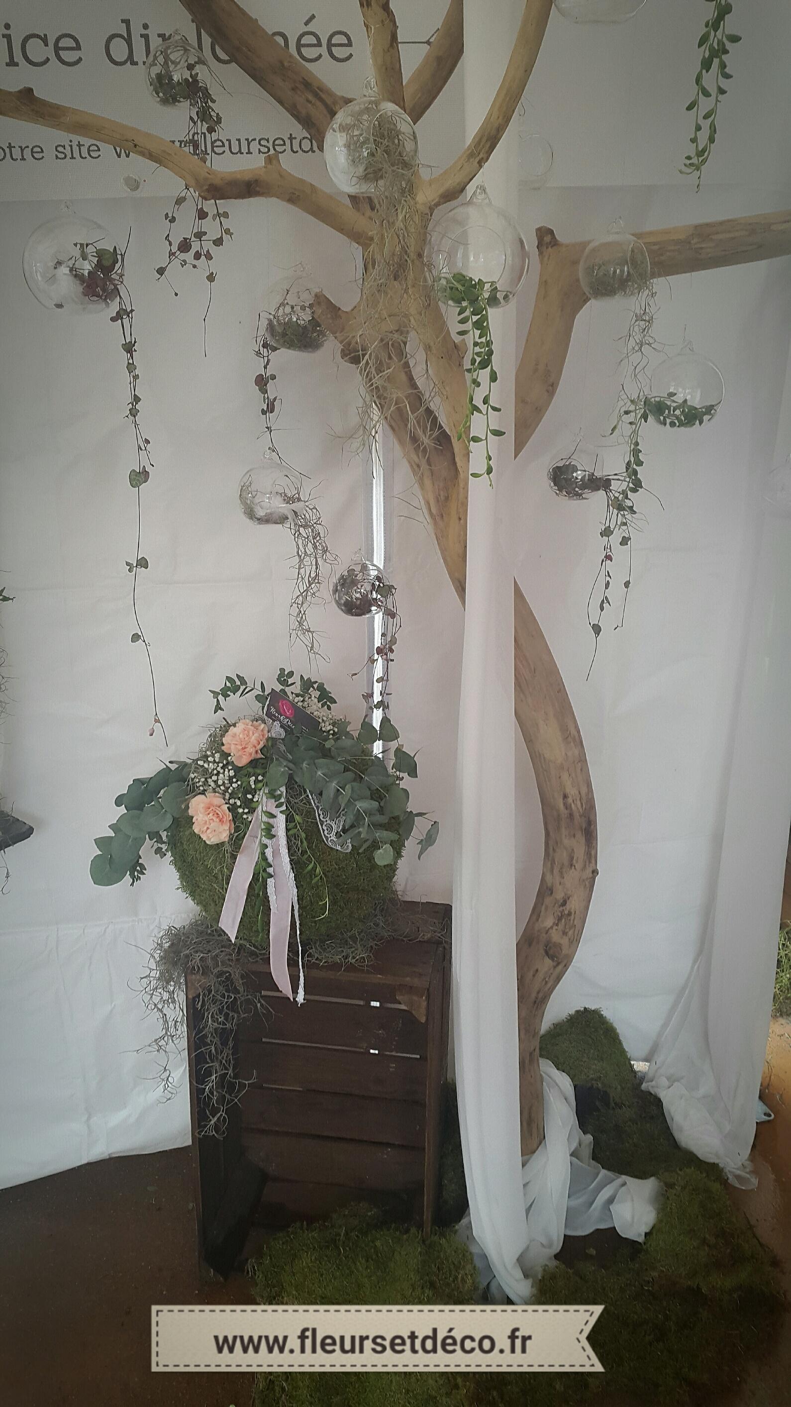 boule en verre suspendre fleurs et d co. Black Bedroom Furniture Sets. Home Design Ideas