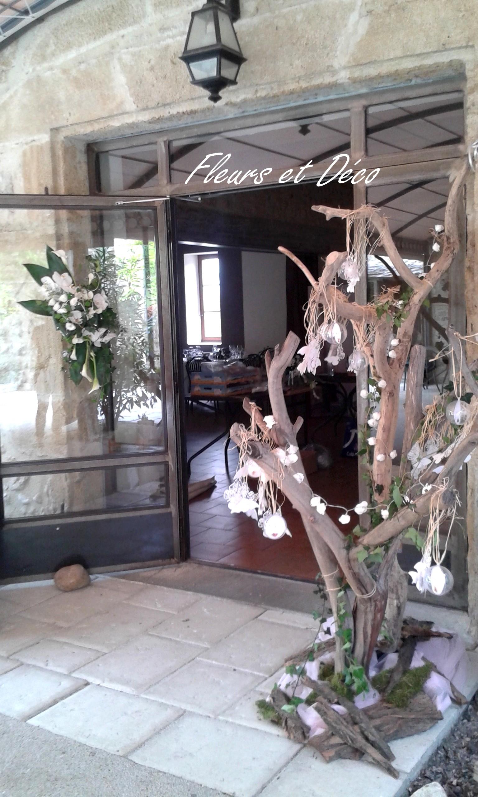 décoration mariage Drôme