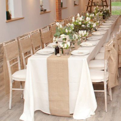 location chemin de table jute