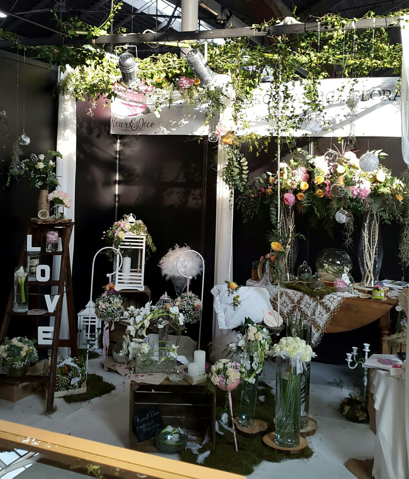 salon du mariage de valence 2016 fleurs et d co. Black Bedroom Furniture Sets. Home Design Ideas