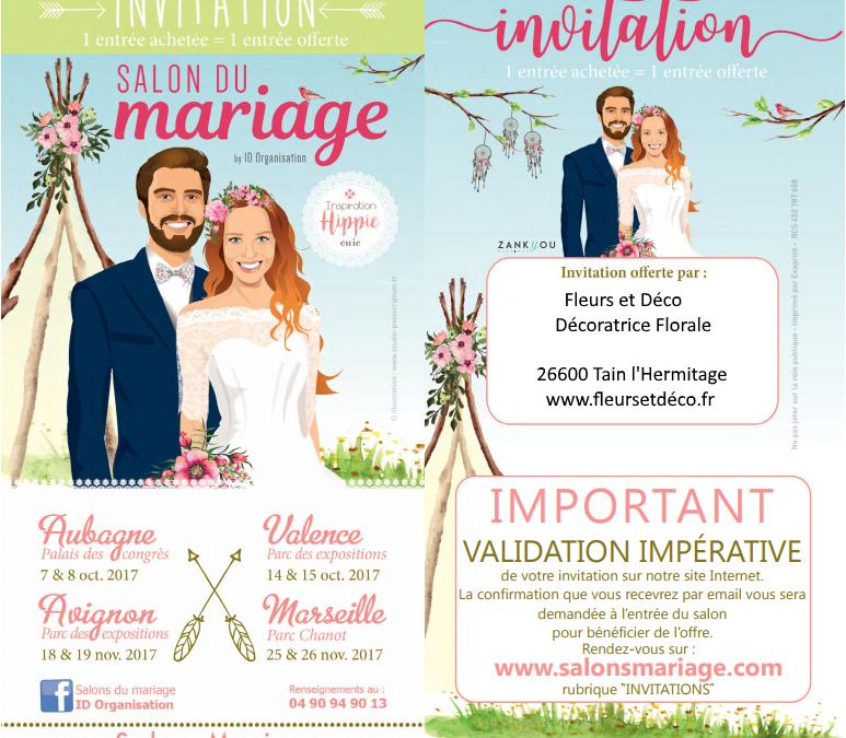 Salon du Mariage de Valence 2017