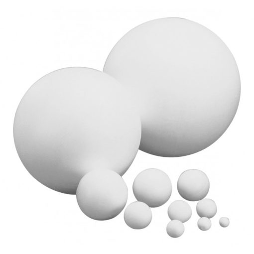 Boule polystyrène diam 20cm