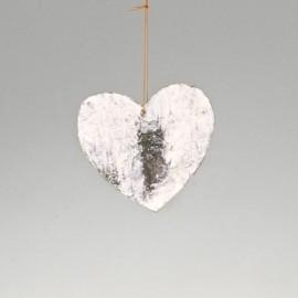 Coeur en écorce de bois
