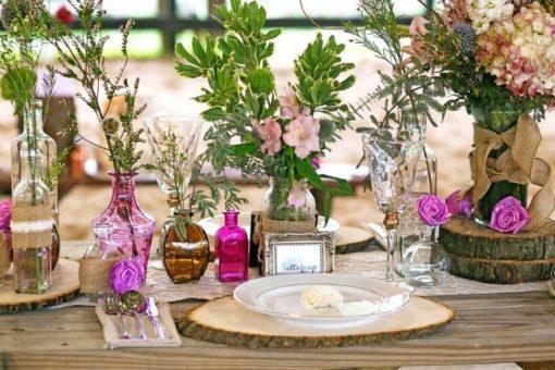 Décoration bois mariage