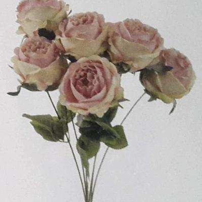 Rose rose artificielle