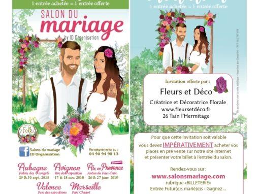 Entrée GRATUITE au Salon du Mariage Valence 13 & 14 Octobre