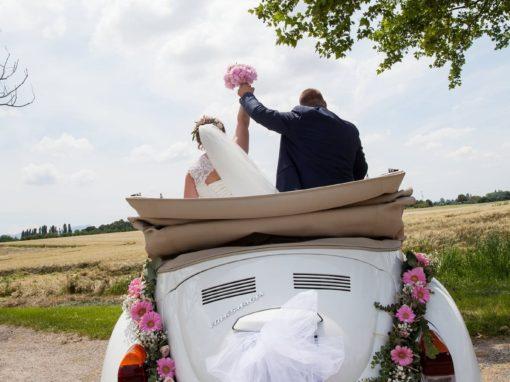 Un mariage «dans l'air du temps»