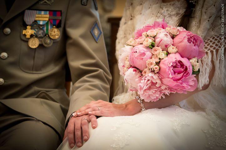 Un mariage doux et romantique